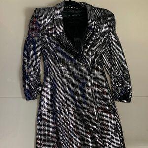 Zara  Sequin Blazer Dress